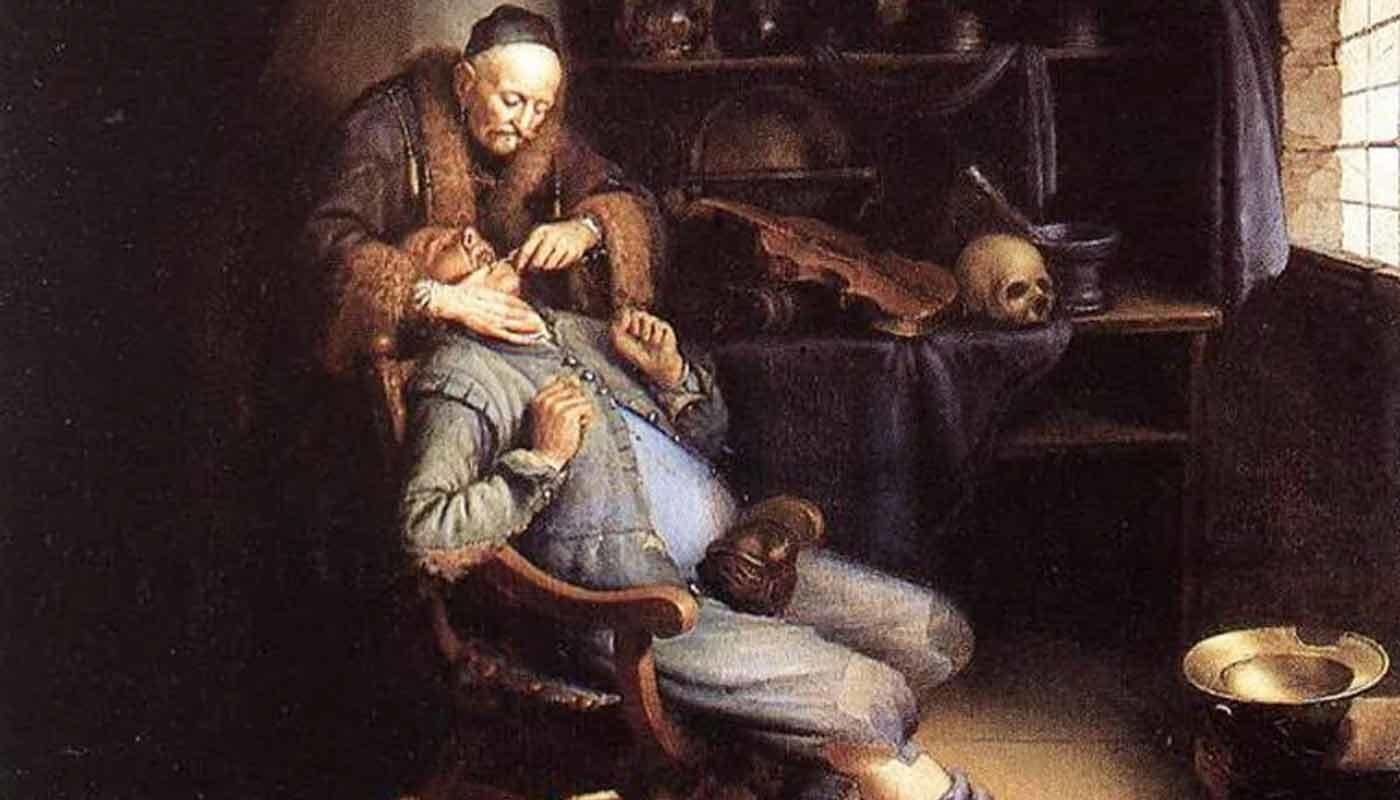 история лечения зубов